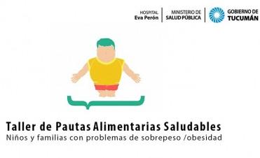 Realizarán un taller para prevenir y tratar la obesidad infantil