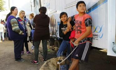 El barrio San Miguel recibió los servicios del Estado