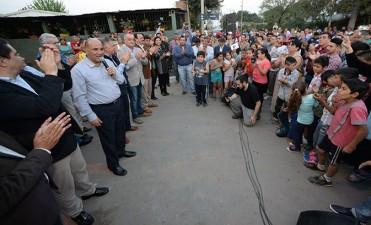 El pavimento en la Villa Obrera beneficiará a 4 mil personas