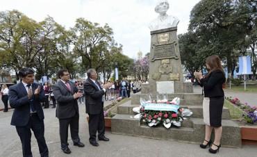 Jaldo homenajeó a Juan Bautista Alberdi