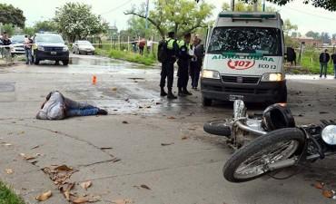Redujeron a dos ladrones armados en Villa Luján
