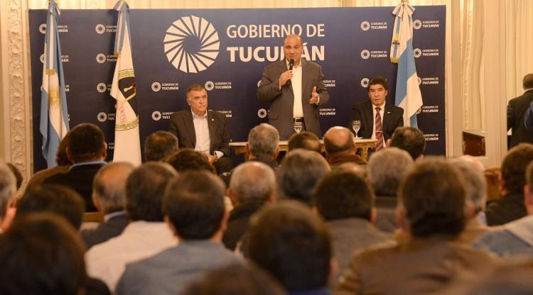 Histórico rechazo de Tucumán a la quita del Fondo Soja
