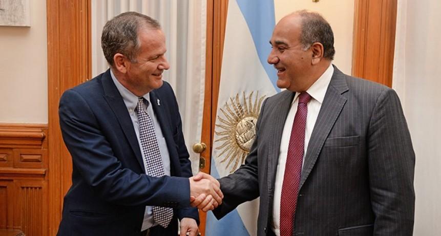 Distinguen al embajador de Israel como Huésped de Honor