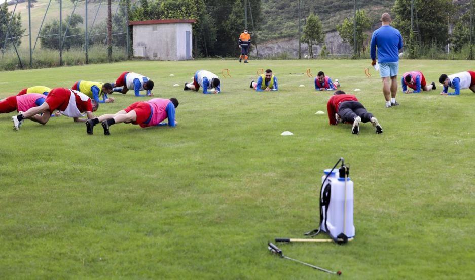 Protocolo para los clubes que vuelven a entrenar hoy