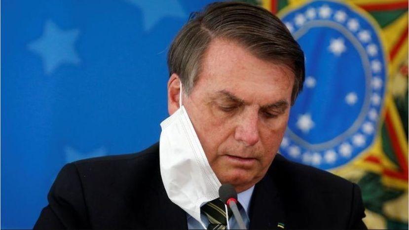 Muere familiar de Bolsonaro por coronavirus
