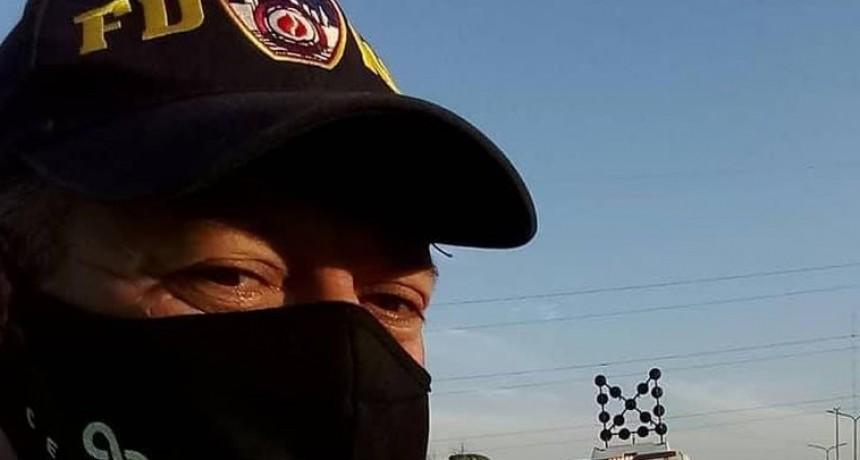Bombero elegido para probar la vacuna contra el Covid-19 en la Argentina