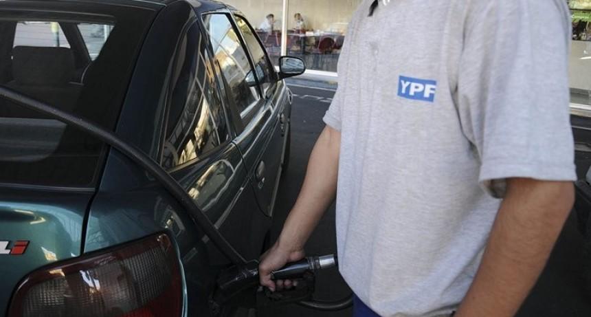 YPF incrementa un 4,5% el precio de combustibles desde este miércoles