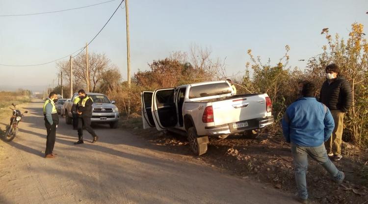 En un operativo hallan una camioneta robada en Las Talitas