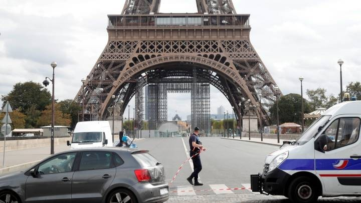 Amenaza de bomba en la Torre Eiffel