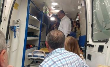 Una nueva ambulancia reforzará la atención en Ranchillos