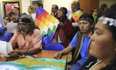 Diputados dio dictamen al proyecto que impide desalojos en tierras indígenas