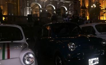 Los Fiat 600 deleitaron a los tucumanos en una muestra