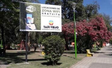 Las plazas de Tafí Viejo tendrán wifi gratis