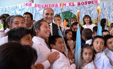 La Escuela N°137 celebró 100 años educando a la comunidad de Los Córdoba