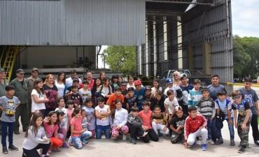 Niños cordobeses hicieron el Circuito Turístico del Limón
