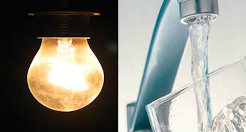 Se postergan los incrementos en la luz y el agua hasta 2021