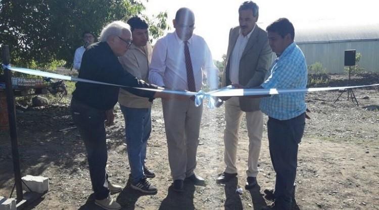 Inauguraron una huerta y vivero municipal en Taí Viejo
