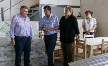 La Provincia acompaña a familias afectadas por el temporal