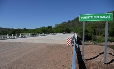 Quedó habilitado el puente de acceso a Villa Padre Monti