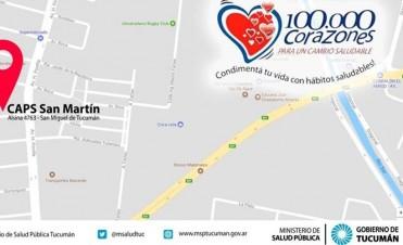 Invita a la comunidad a la Campaña Nacional 100.000 Corazones