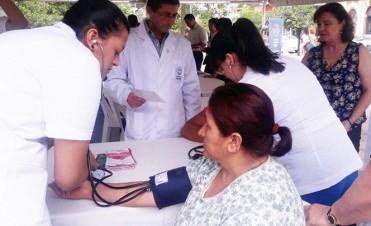 Concientizaron sobre los accidentes cerebro vasculares (ACV)