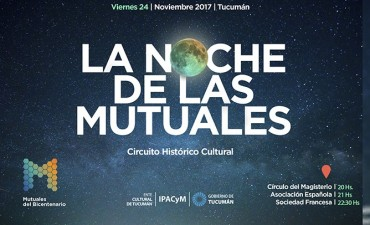 Una noche para recorrer las mutuales más antiguas de Tucumán