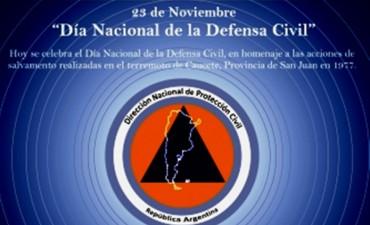 Hoy es el Día Nacional de la Defensa Civil
