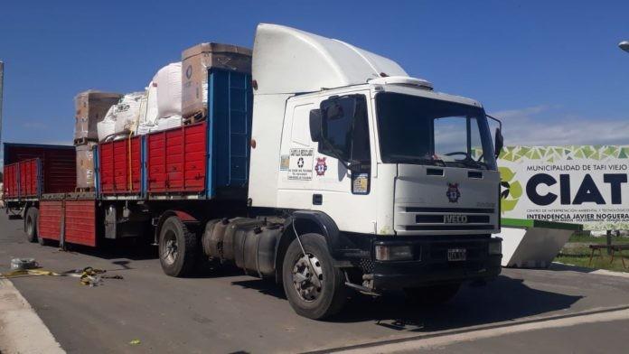 Venden más de 9 toneladas de plástico reciclado a Buenos Aires