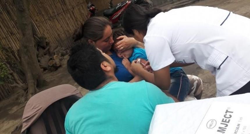 Continúa la vacunación contra el sarampión y la rubéola