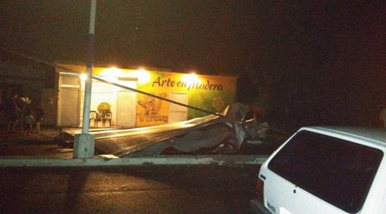 En Famaillá la tormenta afectó a 100 familias