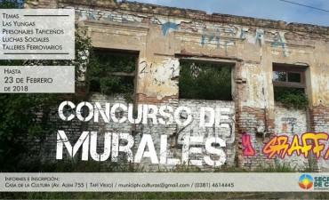 Lanzaron un concurso de murales en Tafí Viejo