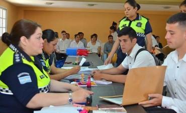 Cinco mil aspirantes se preinscribieron para ingresar a la Policía