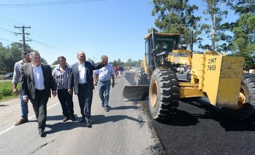 La Provincia invierte $30 millones para reparar la ruta 301