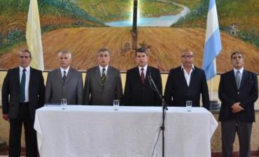 Maley presentó a las nuevas autoridades de Institutos Penales