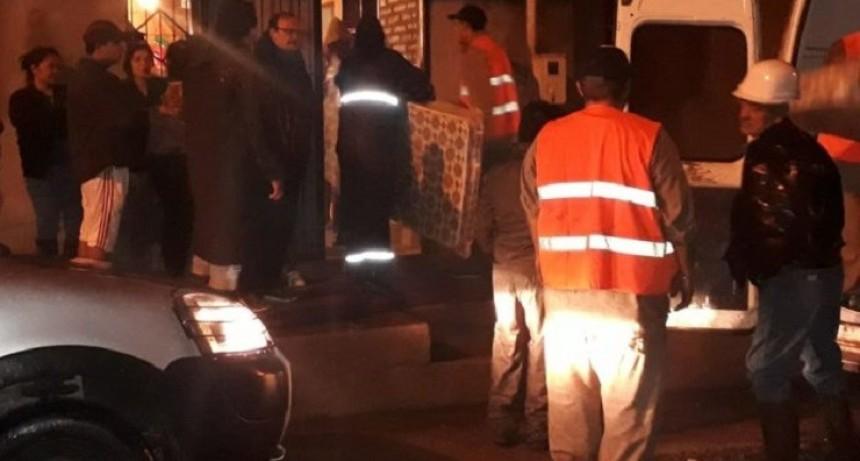 Asisten a damnificados por el temporal en Tafí Viejo