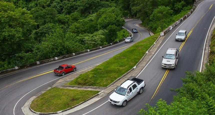 Restricciones de circulación por la ruta a los Valles